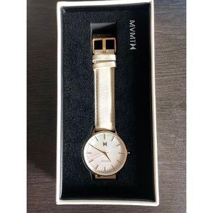 MVMT women's leather watch